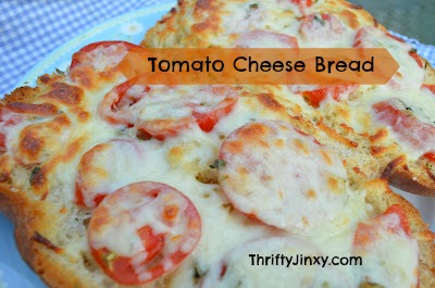 Fabulous Tomato Cheese Bread Recipe