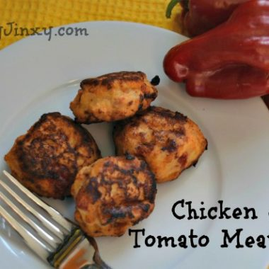 Chicken and Tomato Meatballs Recipe
