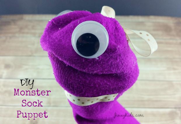 Monster Sock Puppet