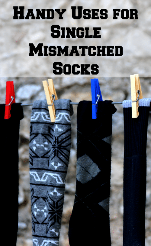 Handy Uses for Single Mismatched Socks