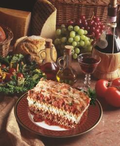 Lasagna w-Meat Sauce