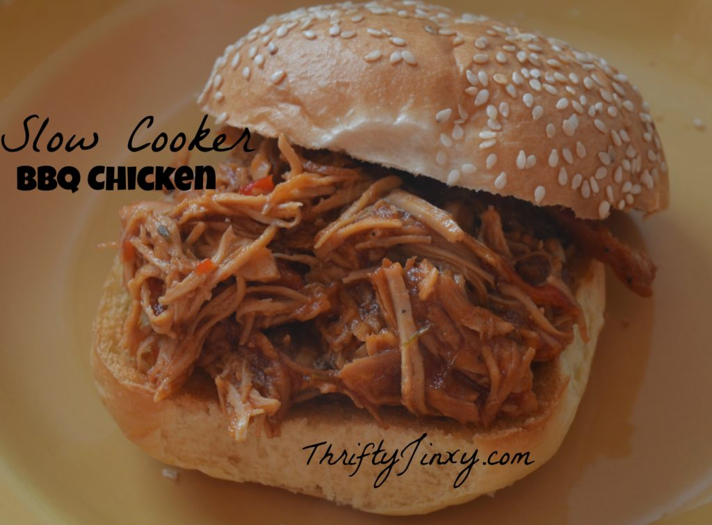 Easy Slow Cooker BBQ Pulled Chicken Recipe