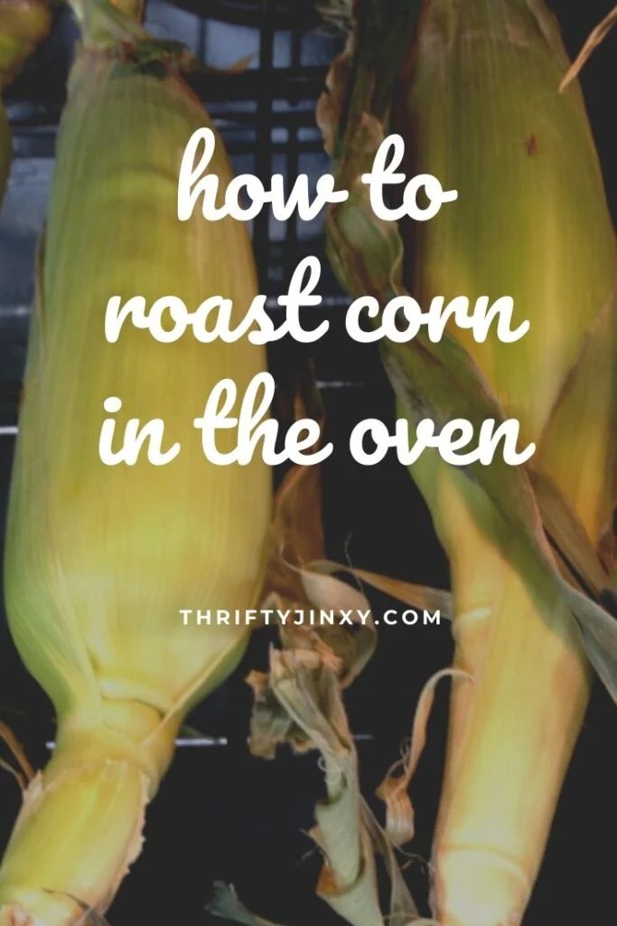 how to roast corn in the oven