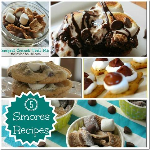 Smores Recipes