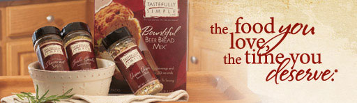 tastefully simple banner