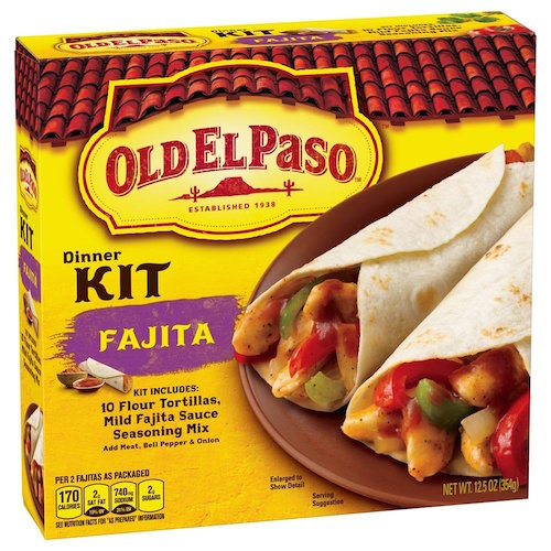 Old El Paso Chicken Fajita Kit