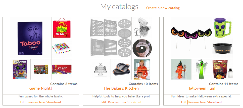 Shop Your Way Personal Shopper Catalogs