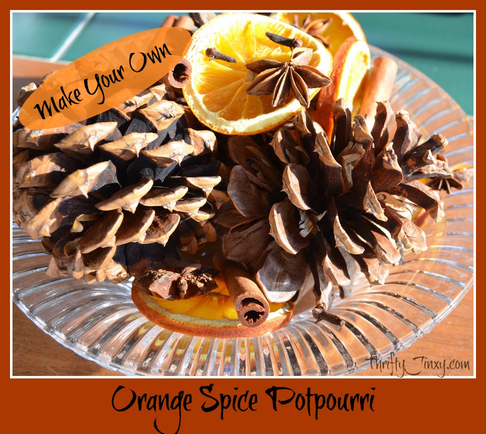 orange spice potpourri