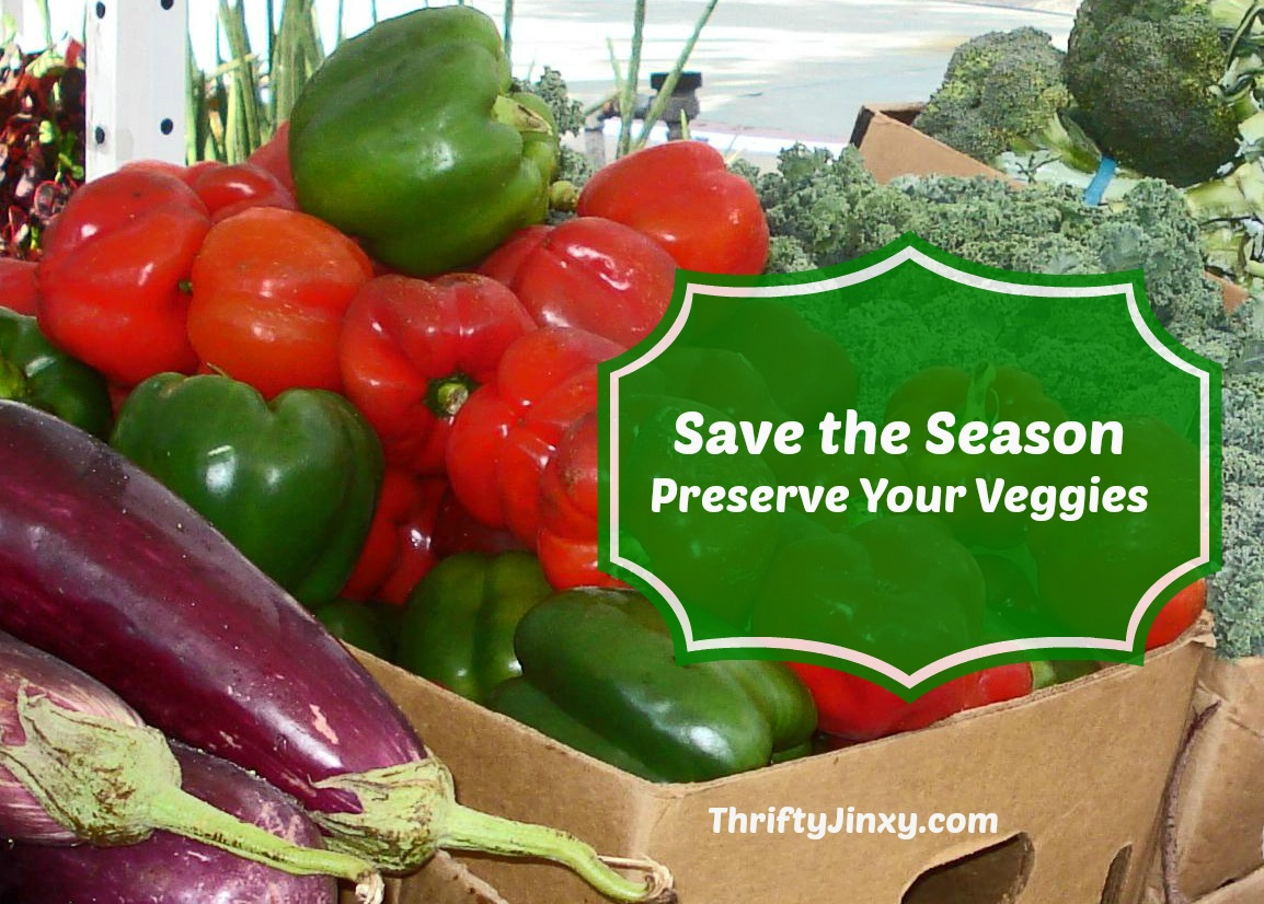 preserve veggies