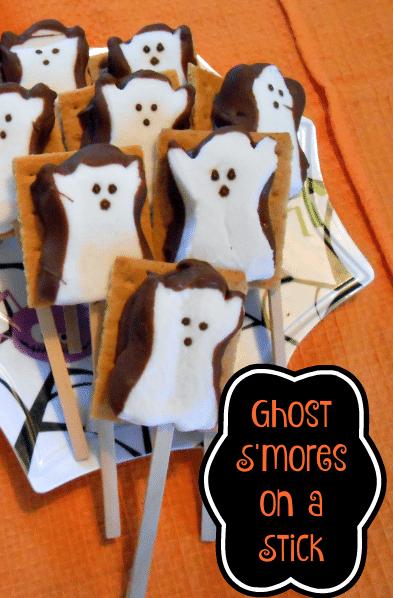 hostly Halloween S'mores Recipe