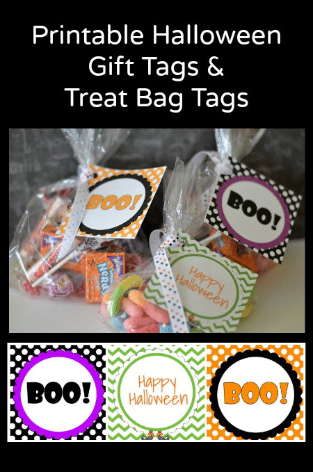 Free Printable Halloween Gift Tags And Treat Bag Tags Thrifty Jinxy