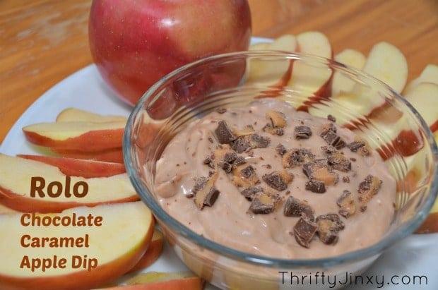 Rolo Chocolate Caramel Apple Dip Recipe