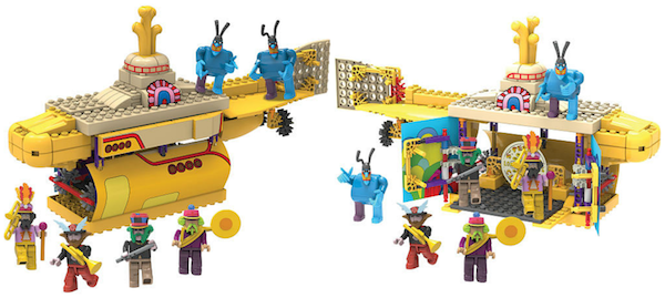 K'NEX Yellow Submarine Building Set