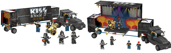K'NEX Kiss Rock Stage Big Rig Building Set