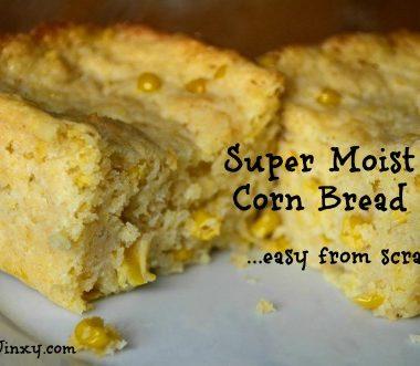 Moist Corn Bread Recipe