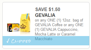 photo relating to Gevalia Printable Coupons referred to as $1.50/1 Gevalia Espresso Coupon \u003d $4.48 at Walmart! - Thrifty