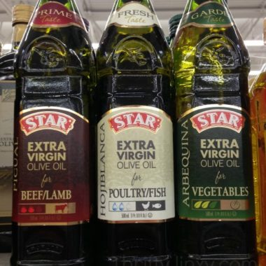 Star Usage Pairing Olive Oil #shop