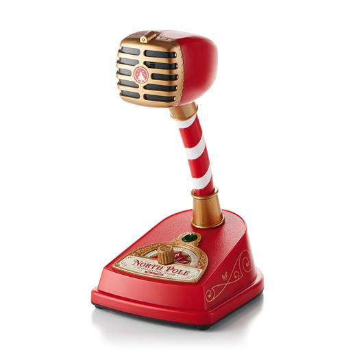 Hallmark north pole communicator microphone christmas