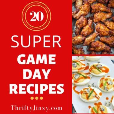 20 Super Bowl Recipes