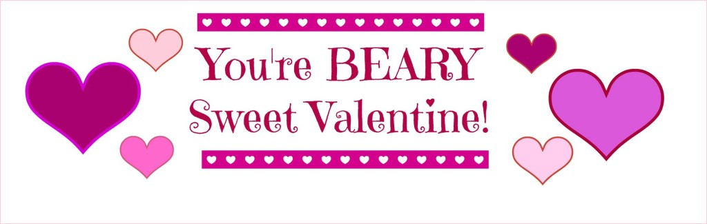 Beary Sweet Valentine Topper