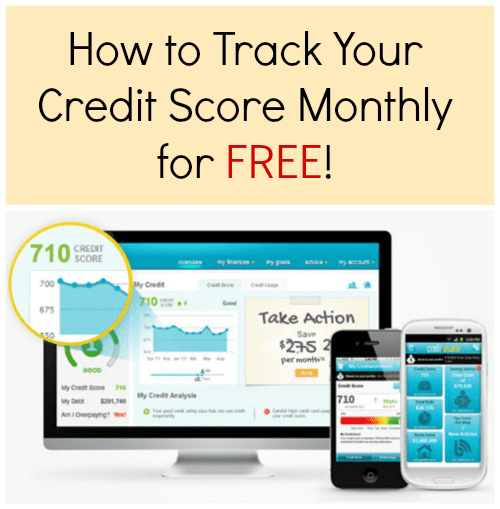 How to Track Your Credit Score Monthly