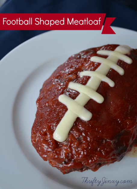 Football Shaped Meatloaf Recipe