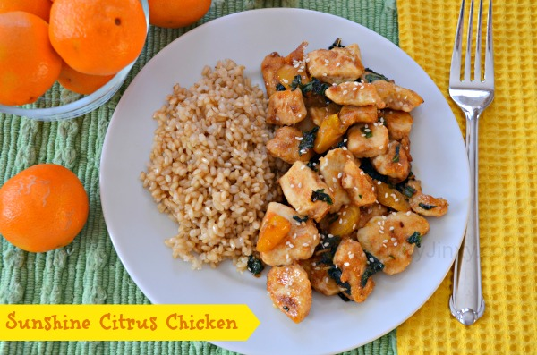Sunshine Citrus Chicken Recipe #MyRainbow #shop #cbias 4