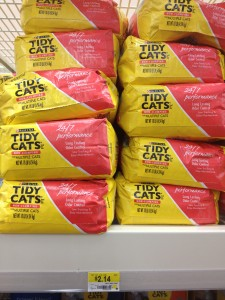 graphic about Tidy Cat Printable Coupons referred to as Tidy Cats Muddle simply $1.14 at Walmart with Printable Coupon