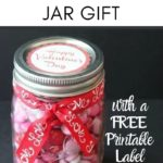Valentine Gift in a Jar