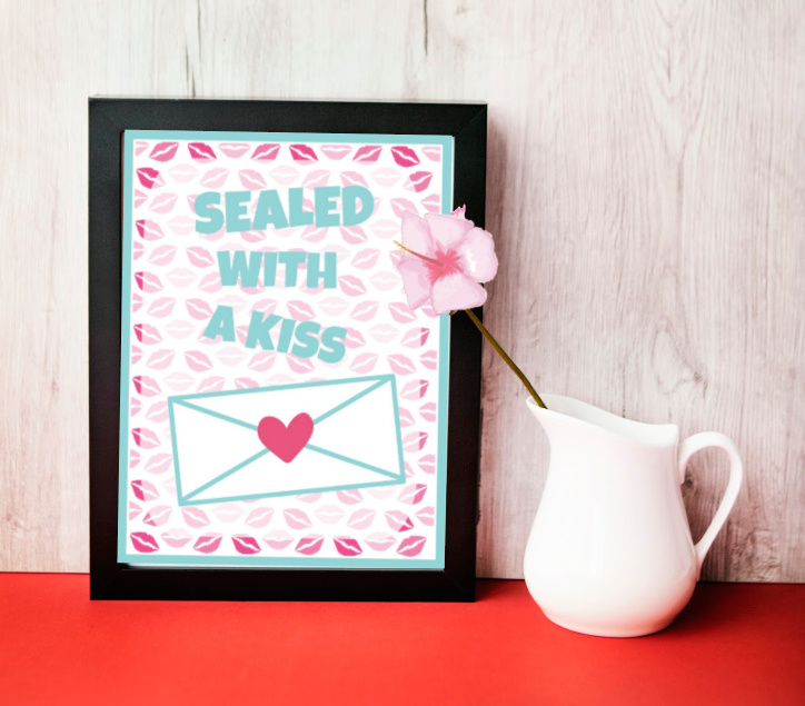 Valentine Wall Art printable