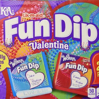 Wonka Fun Dip Valentine Kit
