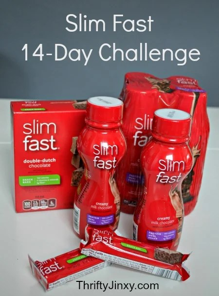 slim fast 14 day challenge results