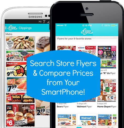 Browse and search store flyers from your SmartPhone!