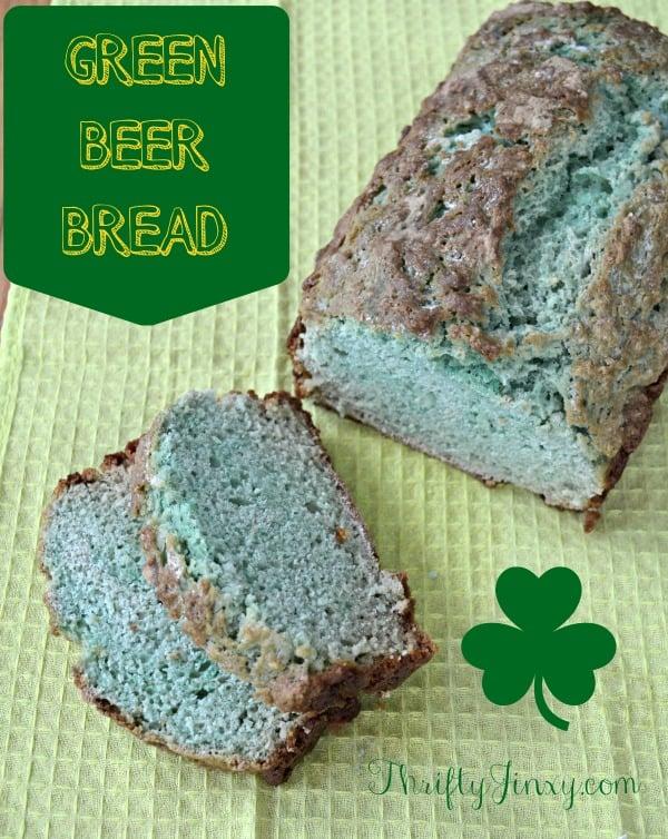 Green Beer Bread Recipe