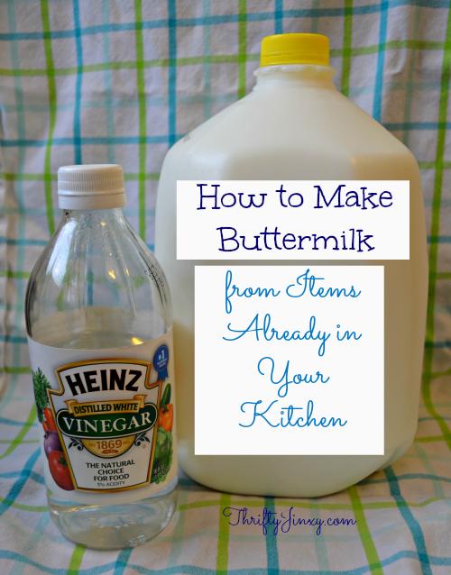 How to Make Buttermilk Alternative