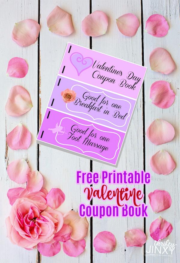 Valentine Coupon Book