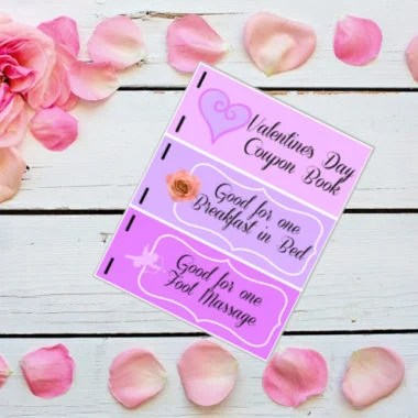 Printable Valentine Coupon Book