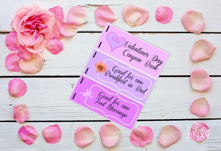 Printable Valentine Coupon Book