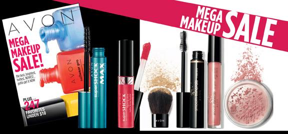 avon mega makeup sale