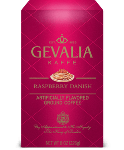 gevalia coffee raspberry danish