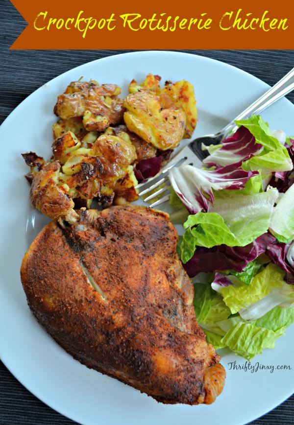 Crockpot Rotisserie Chicken Recipe