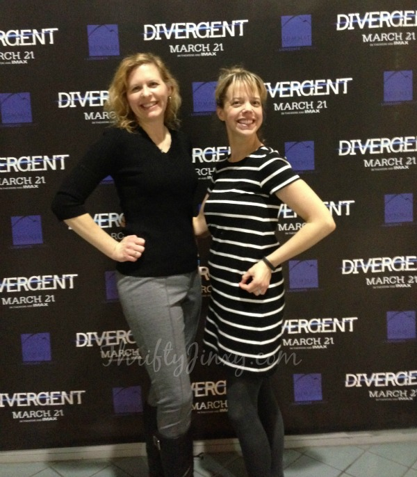 Minneapolis Divergent Red Carpet Premiere Mall of America March