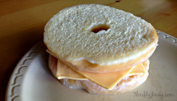 Donut Grilled Cheese 3