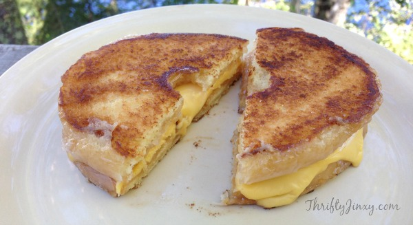 Glazed Donut Grilled Cheese 2