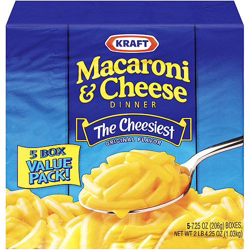 kraft mac and cheese 5 count