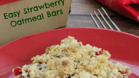 Easy Strawberry Oatmeal Bars