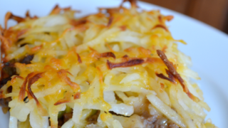 Hashbrown Hamburger Casserole with Veggies and Cheese Recipe