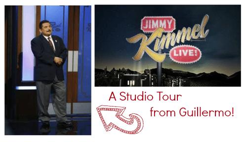 Jimmy Kimmel Live Guillermo Studio Tour
