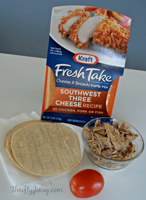 Kraft #FreshTake Southwest Three Cheese