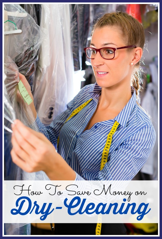 how to save money on dry cleaning